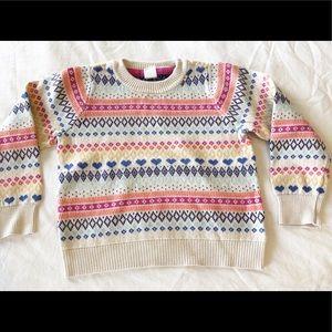 Baby Gap fair isle sweater